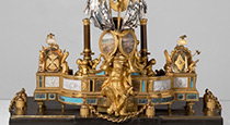 Chesme Inkwell - the set of writing implements, of Catherine the Great era. Transported in 2012.